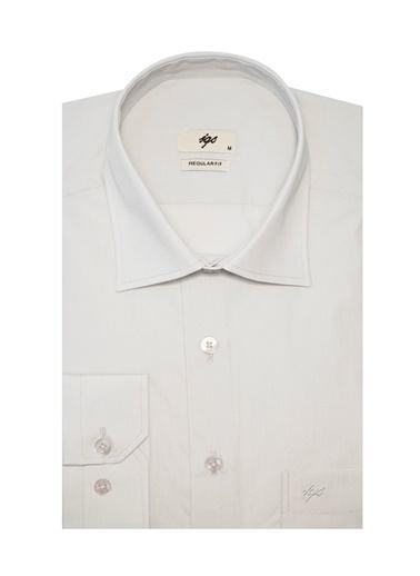 IGS Erkek A.Grı Regularfıt / Rahat Kalıp Std Gömlek Gri